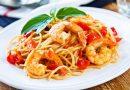 Spaghetti s kozicama